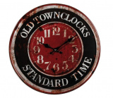 Metalowy zegar - Old Town Clocks