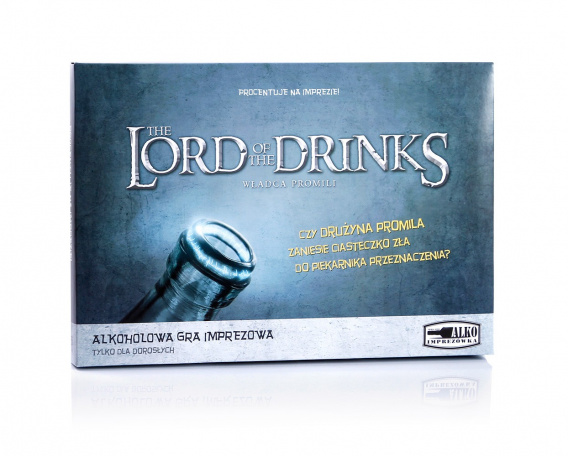 Gra imprezowa - Lord of the Drinks - Władca promili